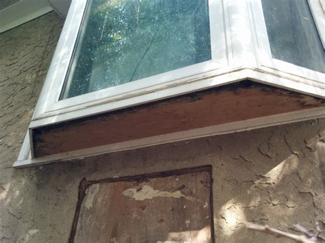 how to a bay how to repair rotten plywood board vinyl bay bow window home improvement