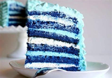 blue food blue blue food cake image 693195 on favim