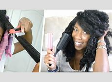 How to Detangle THICK Curly Natural Hair | How to Modify ... Denman Hair