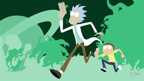 wallpaper 4k rick and morty rick and morty by krukmeister on deviantart