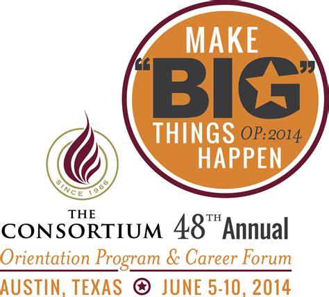 Consortium Mba Partners by Consortium Logo 2014 Vertical The Consortium