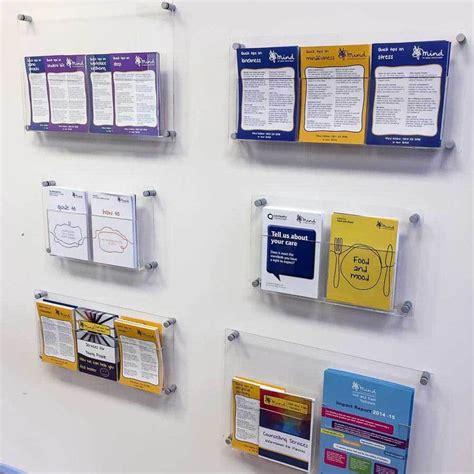 Acrylic Display Brosur 37 best leaflet brochure display solutions images on brochure display brochure