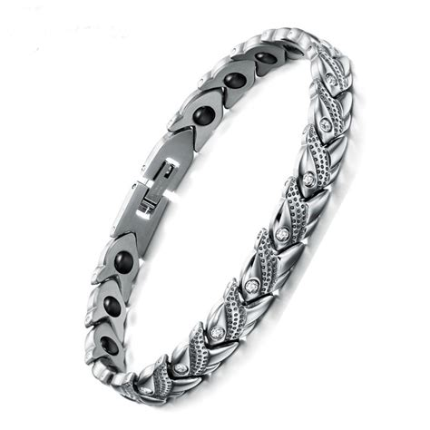 magnetic healing health bracelet stainless steel