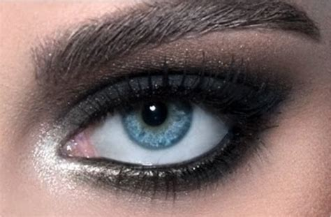 imagenes de ojos ahumados maquillaje de ojos ahumados negro intenso curso de
