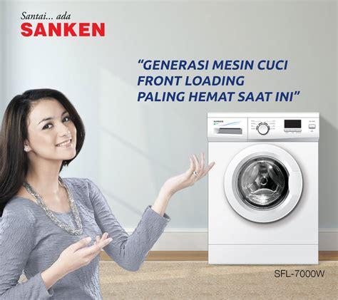 Mesin Cuci Sanken Front Loading jual sanken sfl 7000w mesin cuci putih front loading