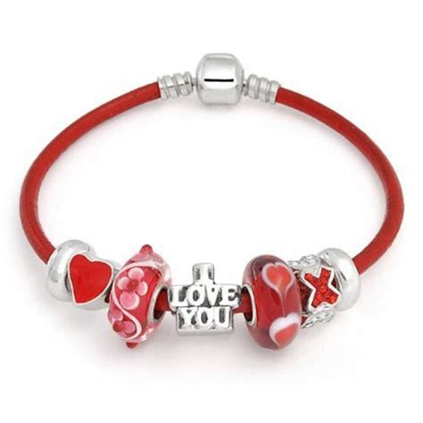 You Noticed These Necklaces With Charms by I You Cz 925 Silver Charm Bracelet Pandora