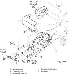 mazda how to replace an alternator motor vehicle maintenance repair stack exchange
