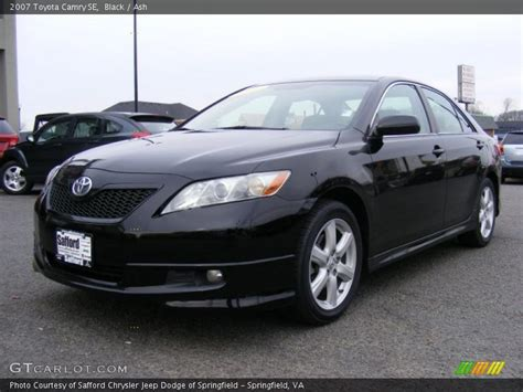 2007 Toyota Camry Se 2007 Toyota Camry Se In Black Photo No 40966904