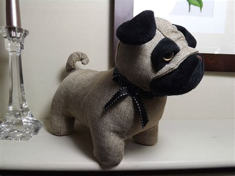 buy pug puppies uk pug fabric door stop beige 163 14 99 picclick uk