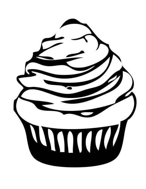 coloring pages of cute cupcakes cute cupcake coloring pages coloring home
