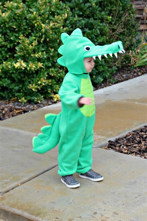 How To Make A Crocodile Mask Out Of Paper - risc handmade toddler alligator costume