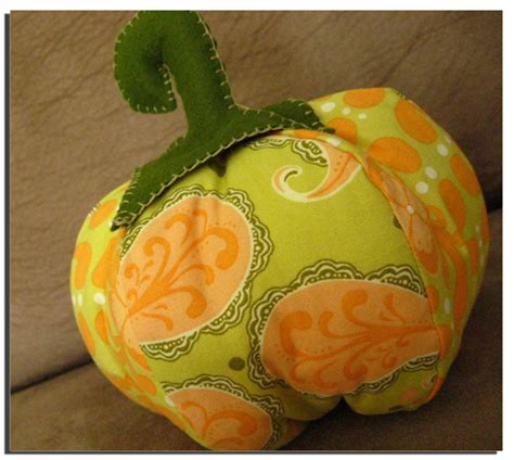 pattern for fabric pumpkins fabric pumpkin tutorial make