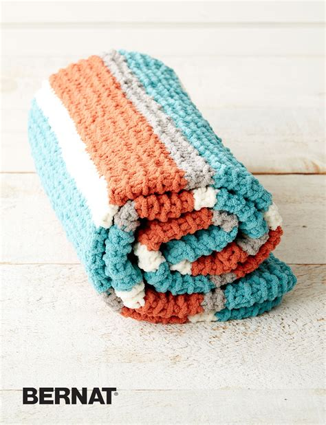bernat pattern video bernat get fresh throw knit pattern yarnspirations