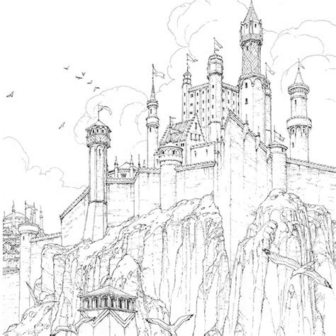 bantam books of thrones coloring book 11 coloring books inspired by your favorite tv shows