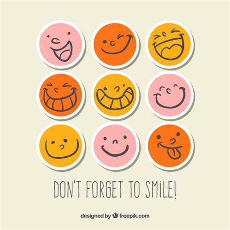 Smiley Sticker Kostenlos smiley sticker der kostenlosen vektor