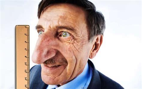 imagenes de narices raras la nariz mas grande del mundo te cagas