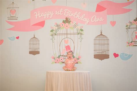 How To Decorate For A Birthday Party At Home by 8 Little Bird Birthday Party Ideas Styleink Mother