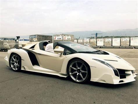 How Owns Lamborghini A Owns This 4 4 Million Lamborghini Veneno Roadster