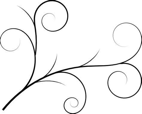 simple vine pattern green vine clip art at clker com vector clip art online