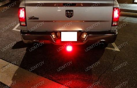 12 led brake light trailer hitch cover fit towing hauling