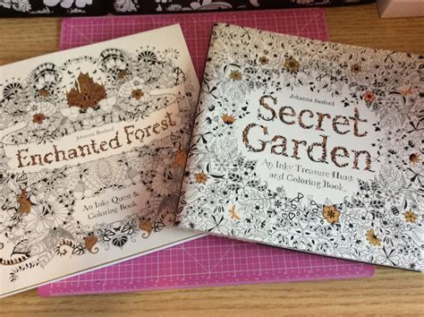 Crafty From Chapters Colouring Books Secret