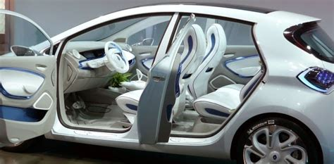 renault zoe interior paris motor show scrapbook