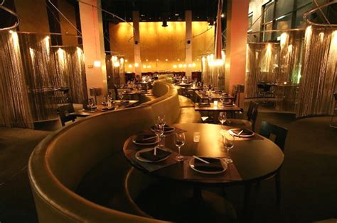 commercial hospitality interior lighting of tatu asian bar and grill florida by