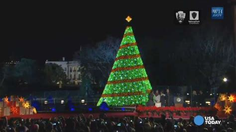 watch the 2014 national christmas tree light up