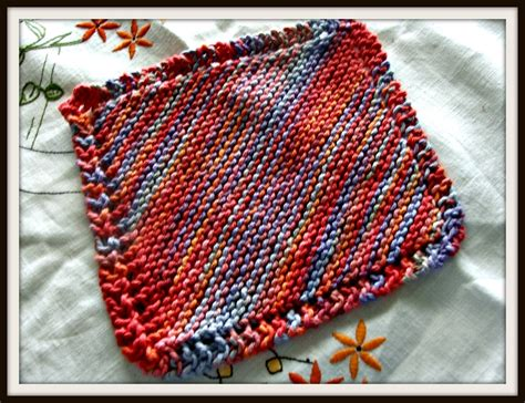 knitted dishcloths how to knit a dishcloth
