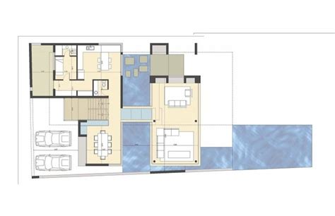 house layout program a black modern house in argentina