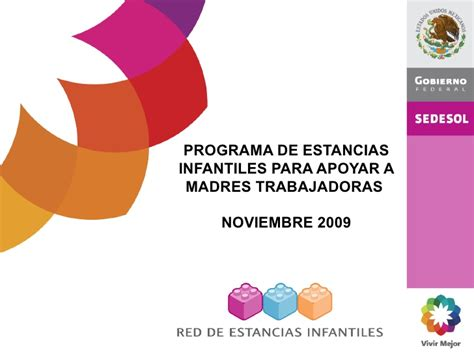 Dif 2018 Programm Pei Programa De Estancias Infantiles Para Apoyar A Madres