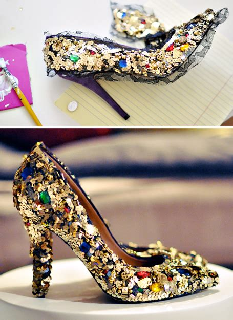 7 Awesome Shoes To Step You Into by 7 Diy Ways To Turn Shoes Into Cool Shoes Again On