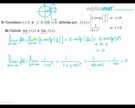 lim x tende a 0 limites de 231 245 es por ramos arctg x