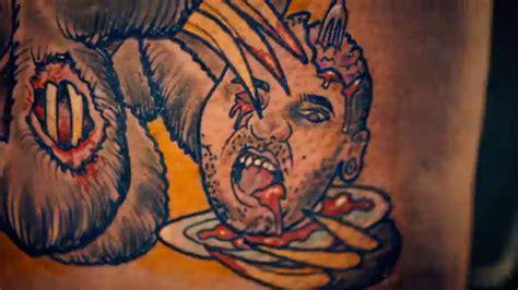 tattoo fixers zombie knob tattoo fixers on holiday kelly and dan horror tattoo