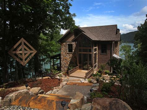 modern rustic homes modern rustic lake house in georgia lake bluff lodge