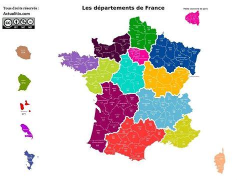 carte de france france carte des villes regions