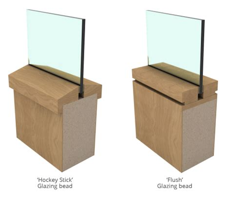 glazing bead glazing aspex