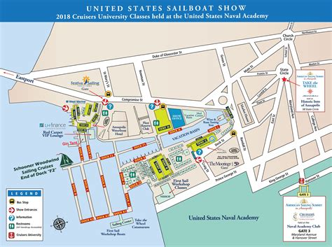 annapolis boat show map sailing cruises october 4 8 from the u s sailboat show