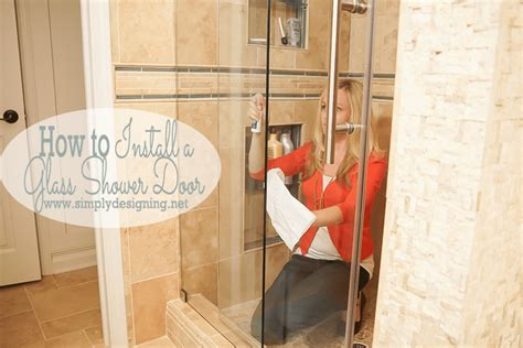 How To Install A Shower Door How To Install A New Shower Door