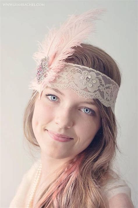 how to make a great gatsby headpiece gran gatsby estilo celada beautiful taupe band con las