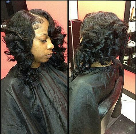 Black Bob Wedding Hairstyles by Awesome Black Bob Hairstyles With Weave Pictures Styles