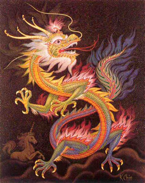 dancing dragon tattoo symbol drawing pictures