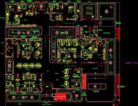 hospital laundry layout plan cad dwg clinic 2d dwg block for autocad designs cad