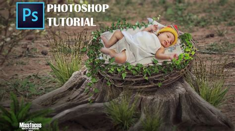 tutorial manipulasi photoshop unik photoshop cc 2017 manipulasi membuat photo bayi unik dan