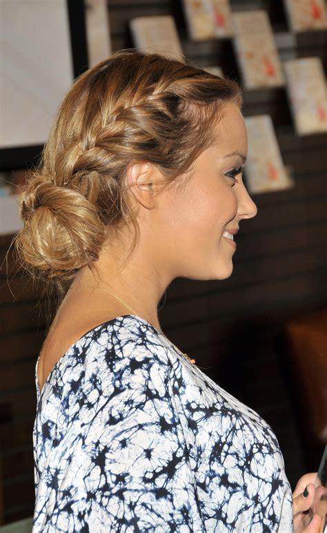 Braided Hairstyles Lauren Conrad | pictures of lauren conrad s braid popsugar beauty