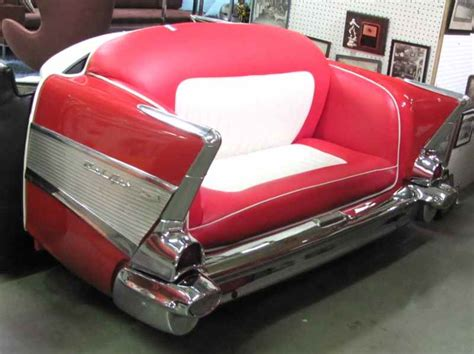 sofa auto car sofa 57 chevy in stuff