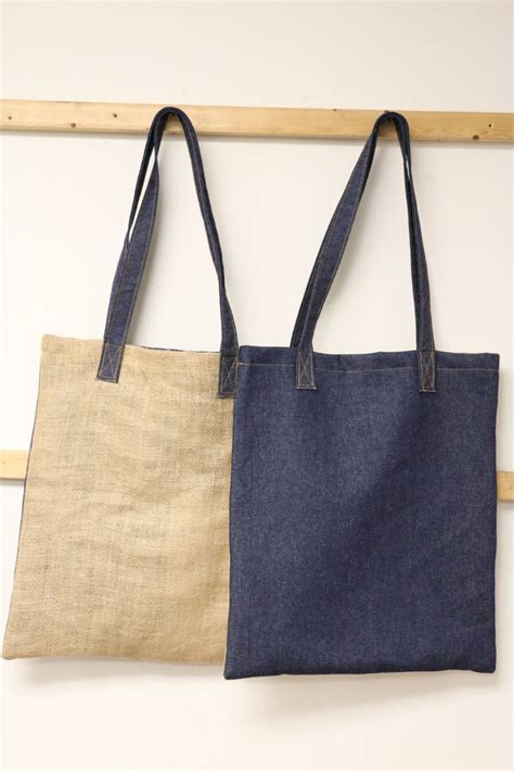 Target Basic Denim Canvas Tote by Denim Bag Denim Burlap Market Bag