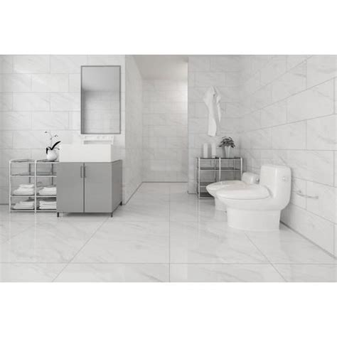 floor and decor porcelain tile volakas plus polished porcelain tile 24in x 24in