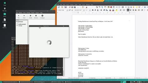 arch linux tutorial youtube how to install hearthstone on manjaro arch linux 2017