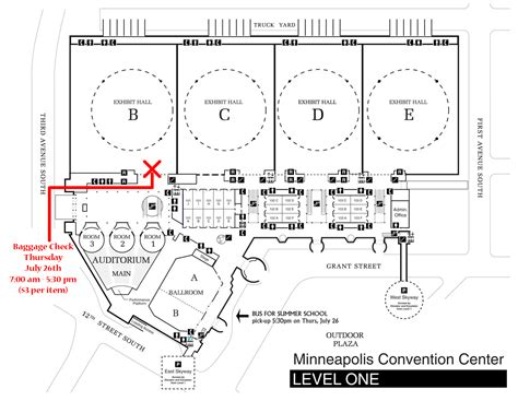 Minneapolis Convention Center Floor Plan by International Bus Related Keywords International